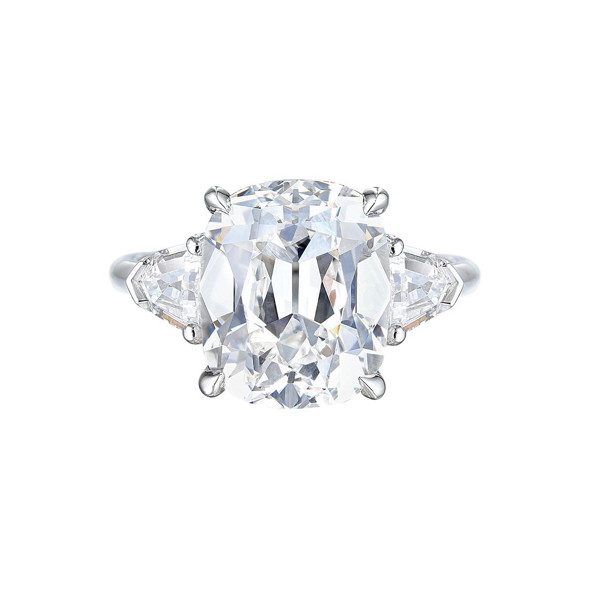 Harry Winston Diamond Ring With Winston Blossom Diamond Engagement Rings (View 9 of 25)