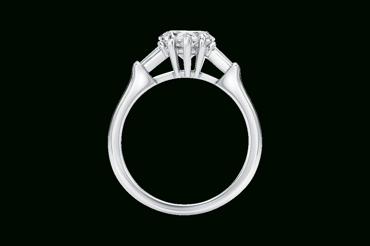 Heart Shaped Diamond Engagement Ring | Harry Winston With Regard To Heart Shaped Engagement Rings With Tapered Baguette Side Stones (View 16 of 25)