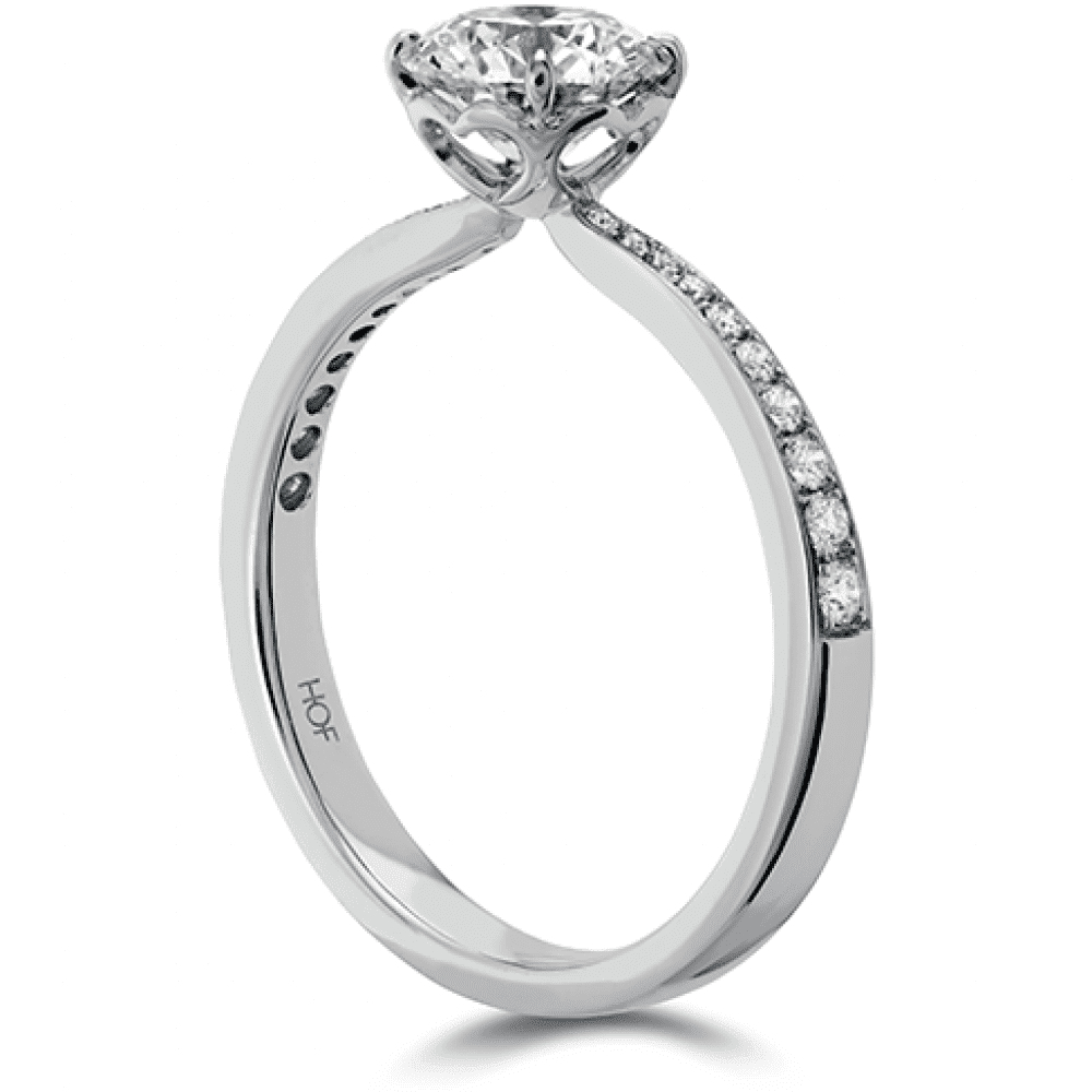 Hearts On Fire Signature Engagement Ring Diamond Band Intended For Current Signature Bands Ring (Gallery 18 of 25)