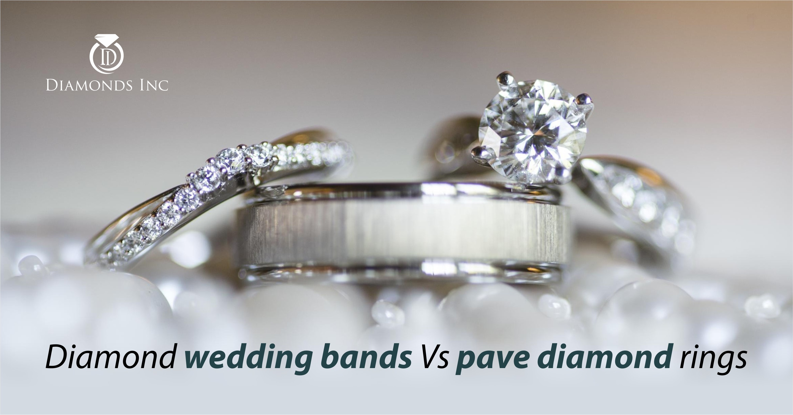 How Diamond Wedding Bands Differ From Pave Diamond Rings Inside Newest Micropavé Diamond Narrow Wedding Bands (View 11 of 25)