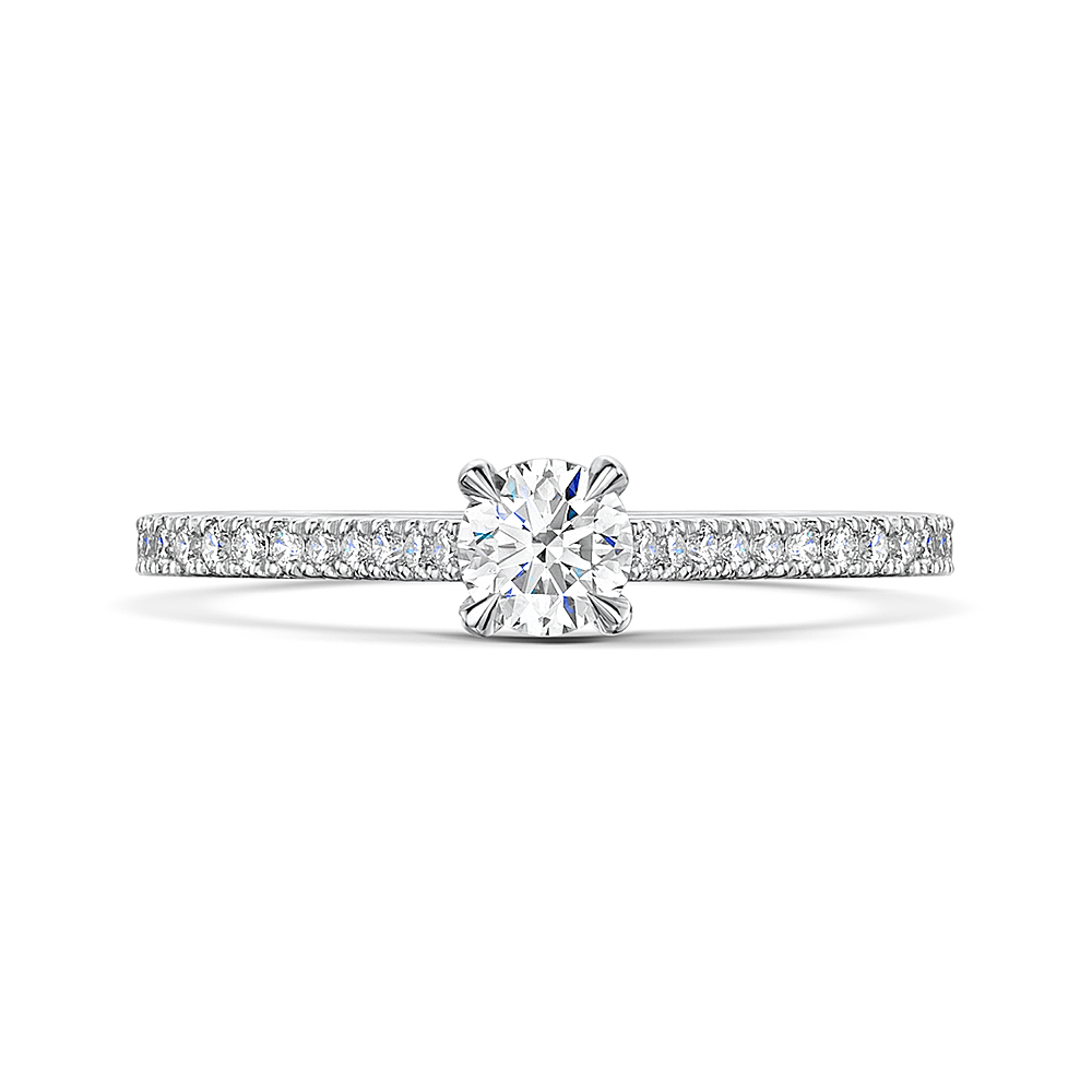 Love Brilliant Cut Diamond Ring (View 7 of 25)
