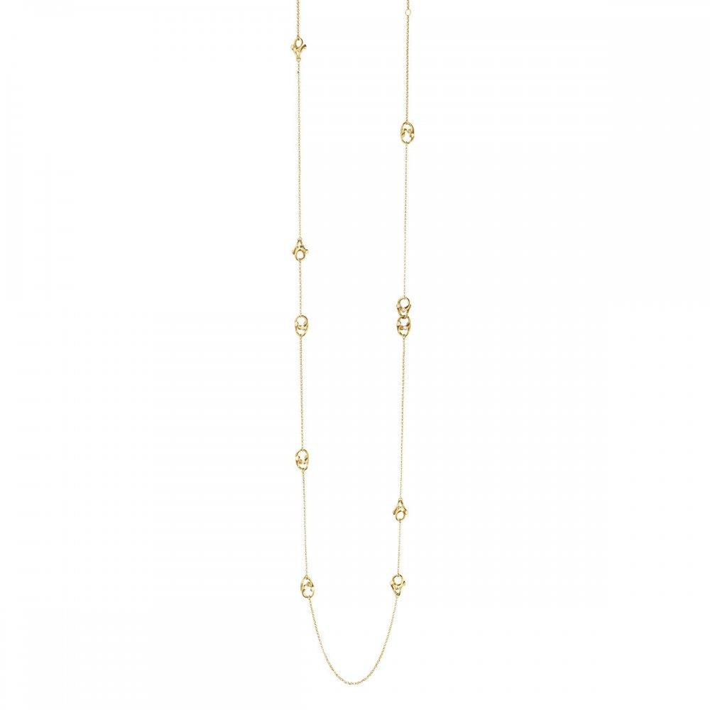 Magic Sautoir Necklace – Yellow Gold/diamond ~ 10012169 Throughout Most Recent White Gold Diamond Sautoir Necklaces (Gallery 24 of 25)