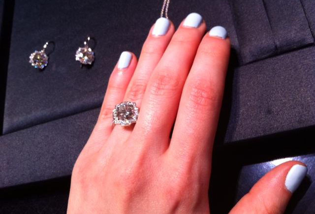 My Date With Harry Winston's New $120,000 'belle' Engagement Regarding Winston Blossom Diamond Engagement Rings (View 5 of 25)