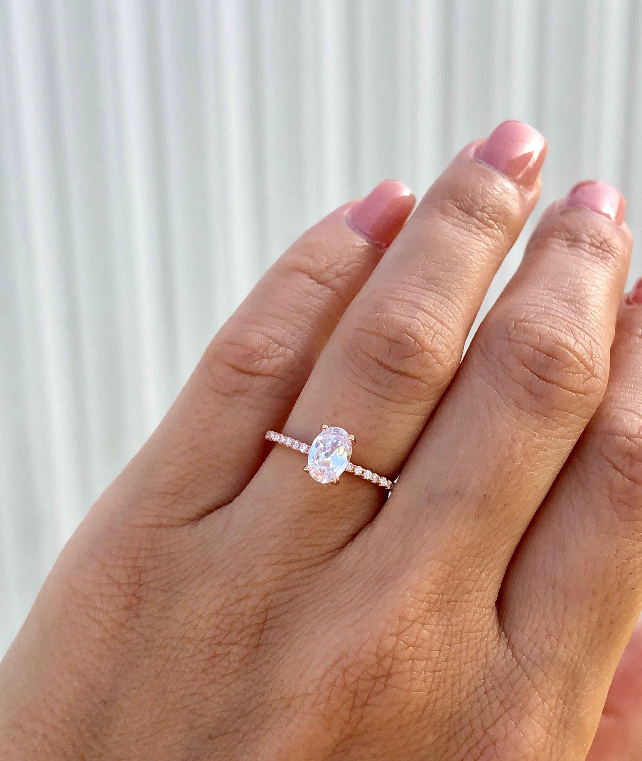 Oval Engagement Ring Throughout Oval Shaped Engagement Rings (View 5 of 25)
