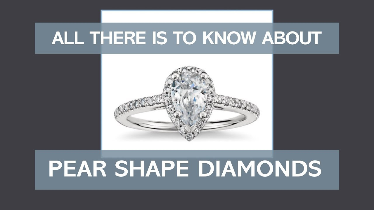 Pear Shaped Diamonds: What's The Best Engagement Ring Ratio? For Tryst Pear Shaped Diamond Engagement Rings (View 16 of 25)