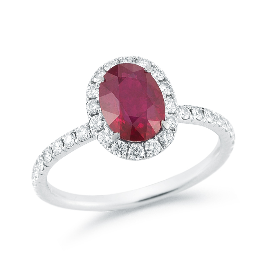 Pictures Of Oval Ruby Rings – Fashion Dresses Pertaining To Oval Shaped Ruby Micropavé Rings (View 3 of 25)