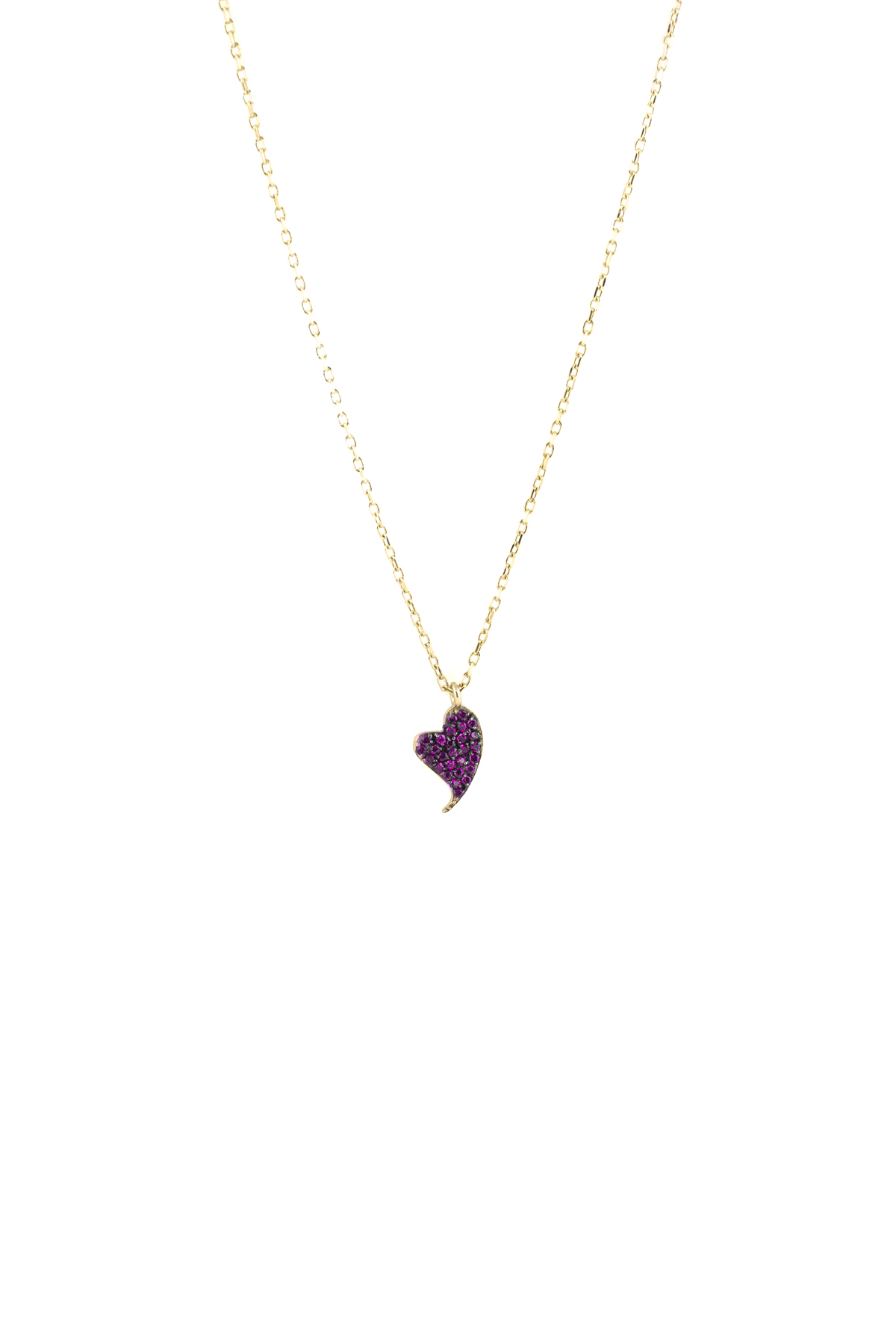 Pinky Diamond Beat – Pink Sapphire Pendant – Charm Necklace In Most Up To Date Lariat Pink Sapphire And Diamond Necklaces (Gallery 16 of 25)