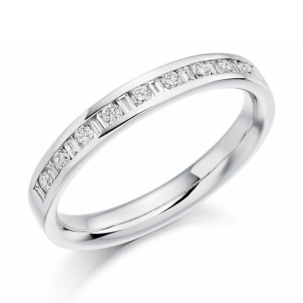 Platinum Eternity Ring  (View 19 of 25)