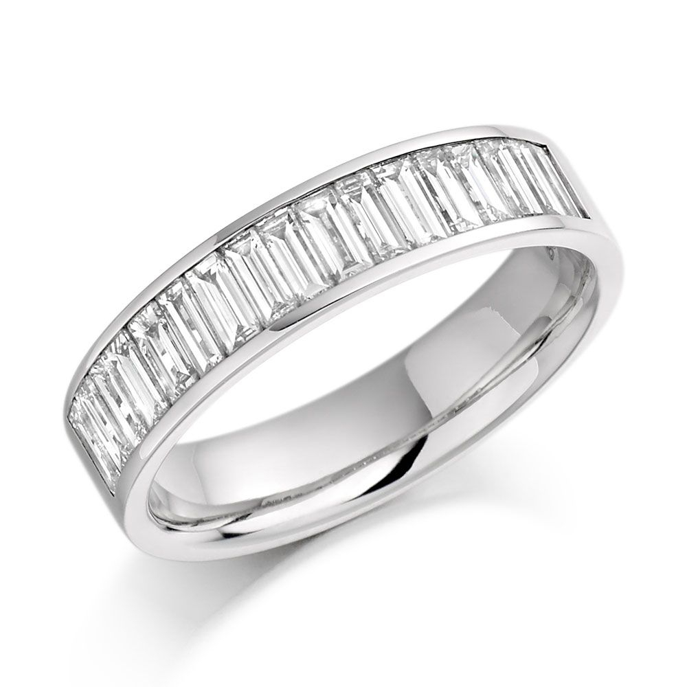 Platinum Eternity Ring  (View 20 of 25)