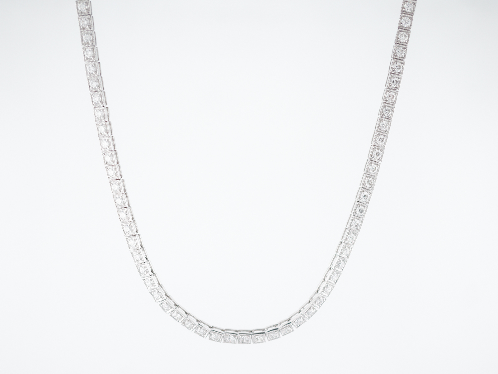 Products Archive | Page 37 Of 61 | Filigree Jewelers For Most Recently Released Round Brilliant Diamond Straightline Necklaces (View 22 of 25)