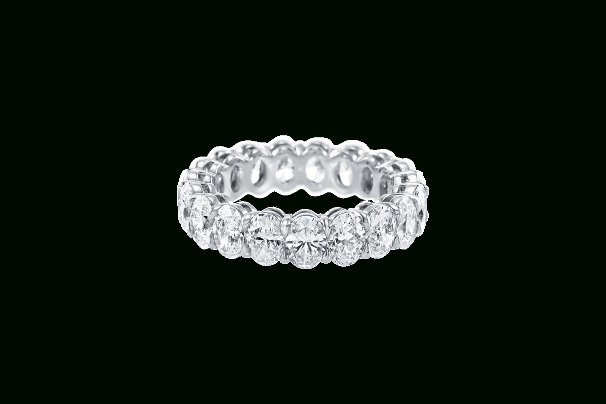 Prong Set Oval Shaped Diamond Band | Harry Winston In Most Recent Prong Set Oval Shaped Diamond Wedding Bands (Gallery 2 of 25)
