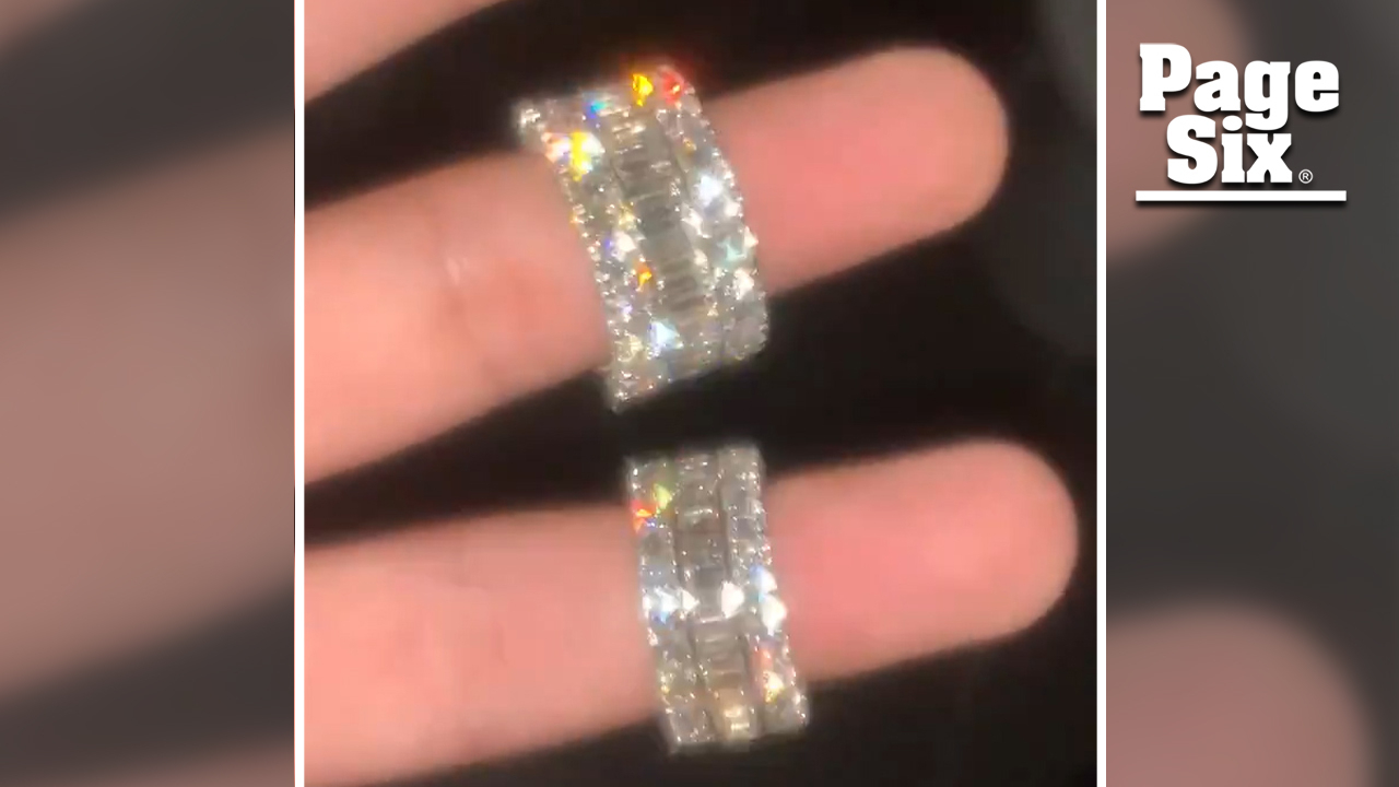 Safaree Samuels Dropped Nearly $500K On Erica Mena'S Wedding Rings Inside Current Channel Set Baguette Cut Diamond Wedding Bands (Gallery 11 of 25)