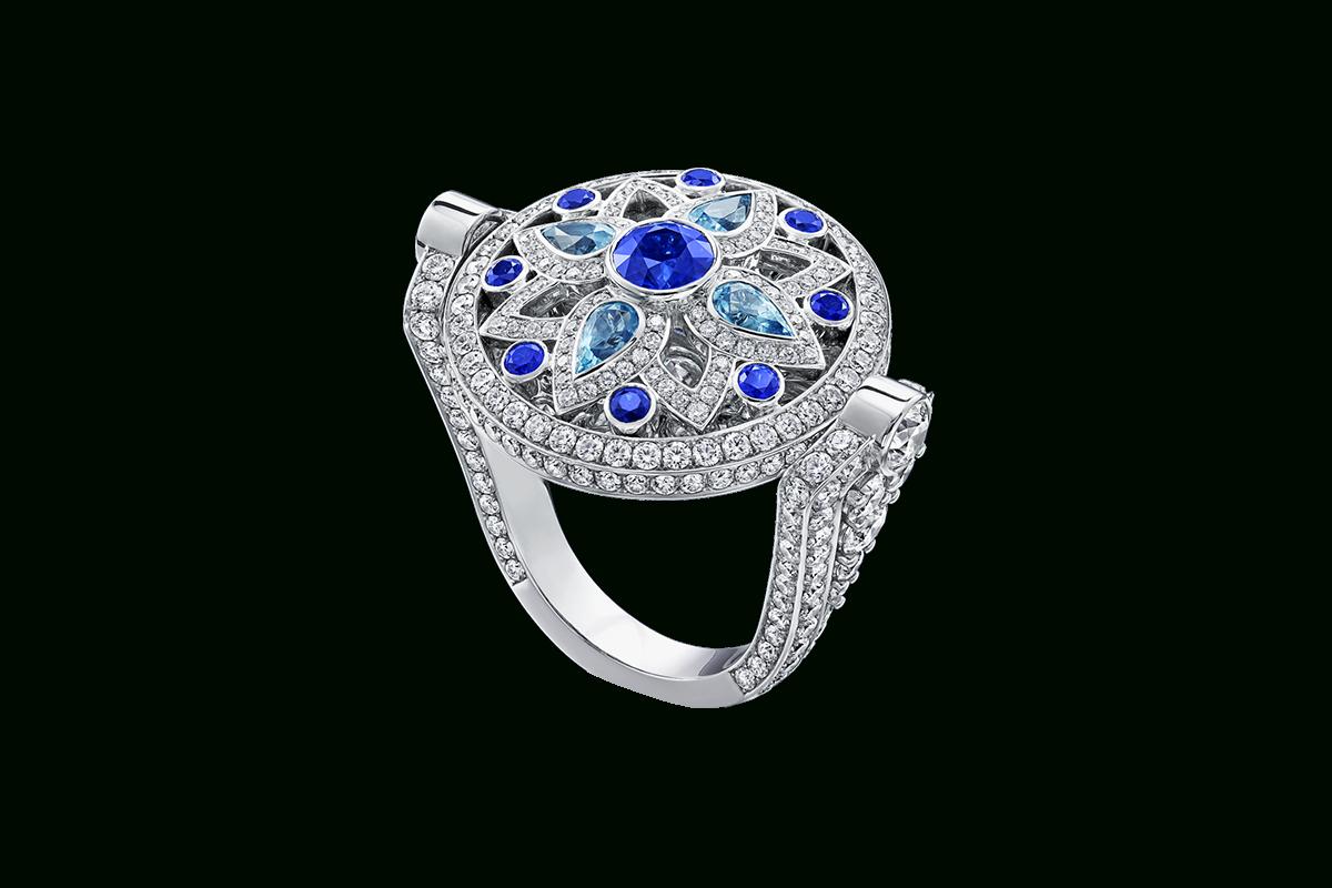 Secret Wonderharry Winston, Reversible Diamond, Sapphire With Regard To Most Current Reversible Diamond, Sapphire And Aquamarine Pendant Necklaces (View 2 of 25)