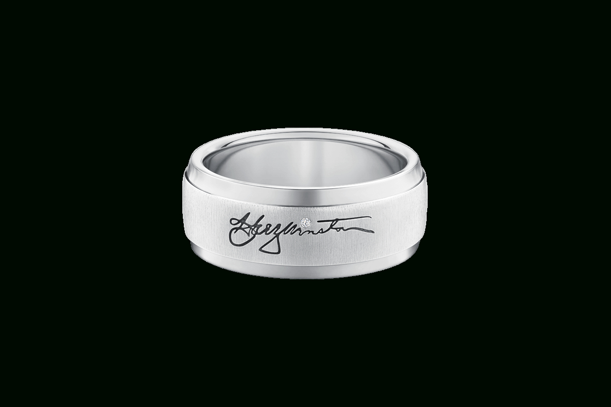 Signature Band Ring | Harry Winston Intended For 2018 Signature Bands Ring (Gallery 7 of 25)