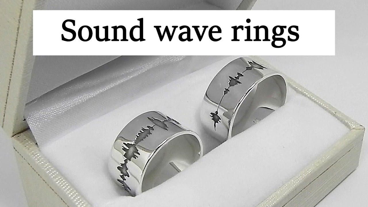Silver Sound Wave Wedding Rings Inside Most Up To Date Wave Diamond Wedding Bands (Gallery 24 of 25)