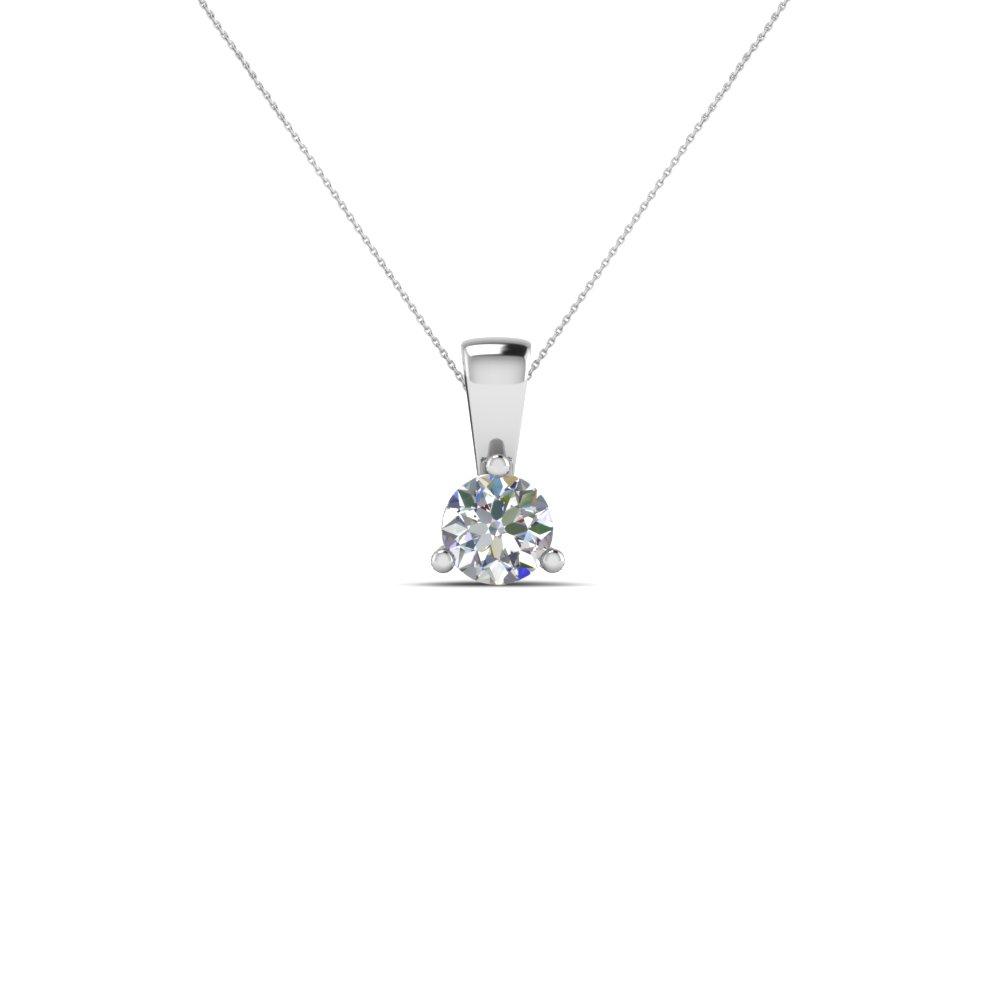 Small Diamond Pendant Necklace With Regard To 2020 Small Diamond Necklaces (Gallery 3 of 25)