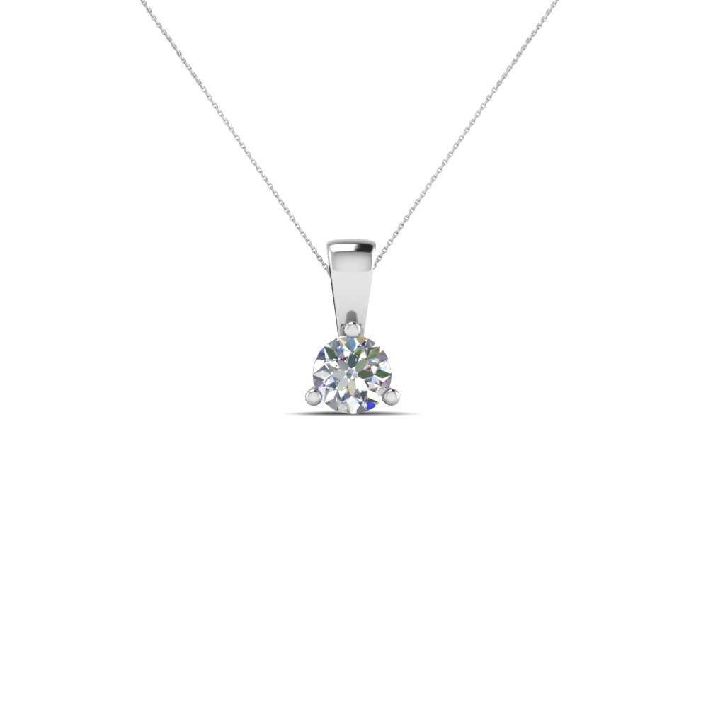 Small Diamond Pendant Necklace Within 2019 Diamond Necklaces In Platinum (View 12 of 25)