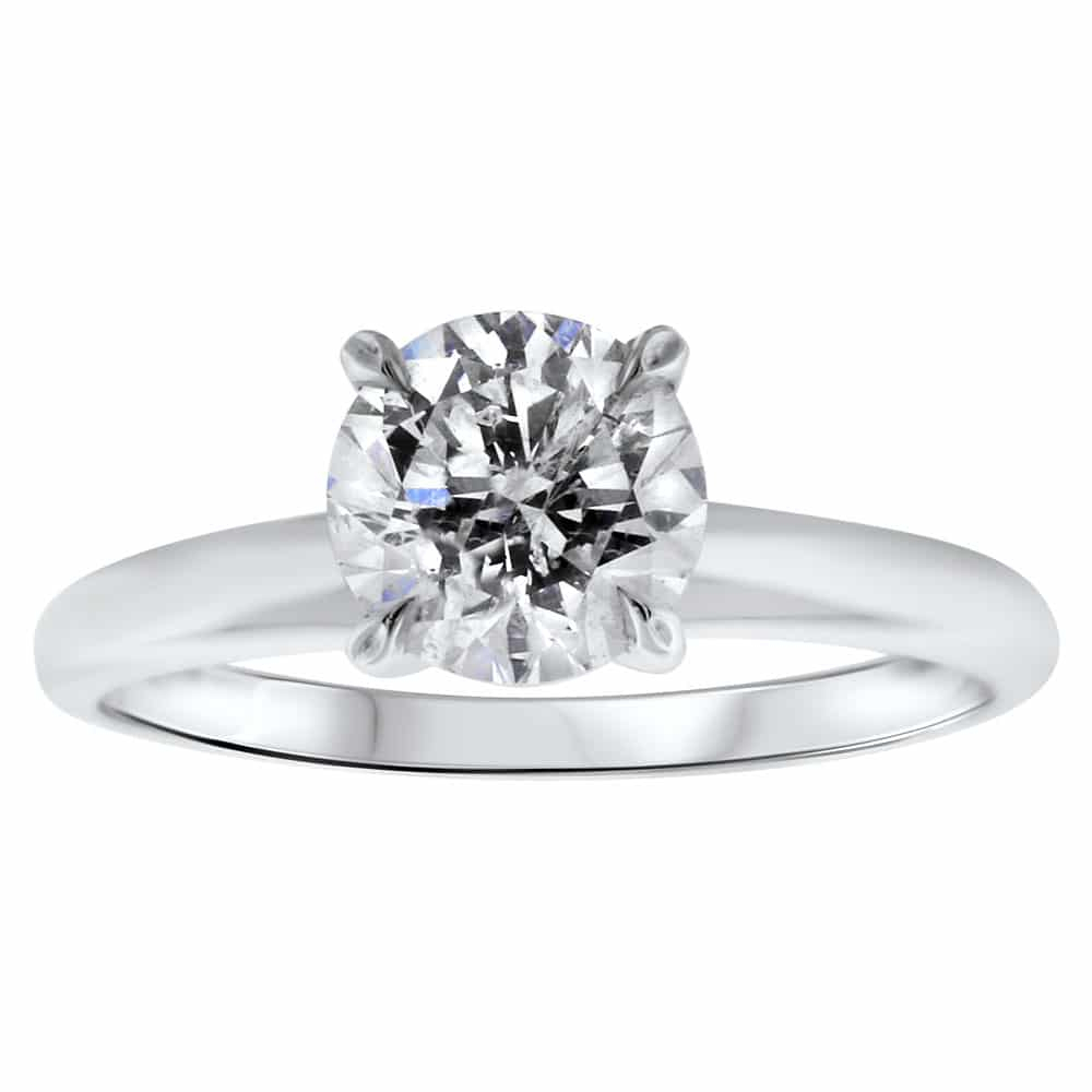 Solitaire Engagement Ring With  (View 21 of 25)