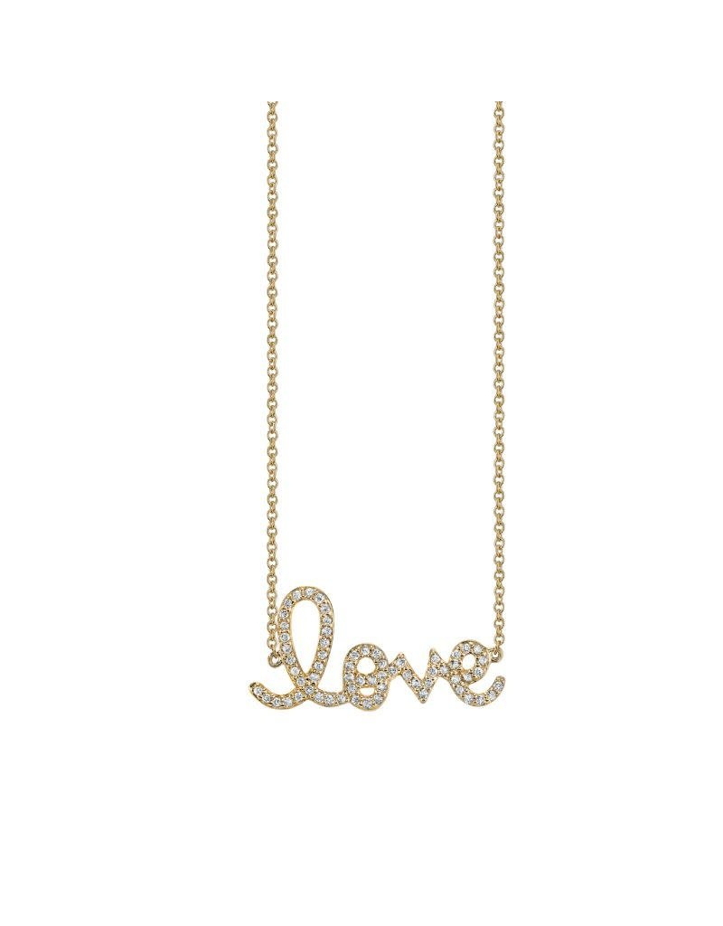Sydney Evan Medium Diamond Love Necklace Regarding Current Medium Diamond Necklaces (View 14 of 25)