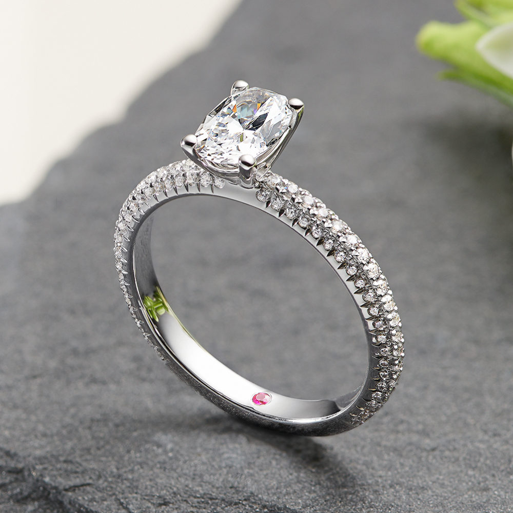 Taylor & Hart | Bespoke Engagement Rings & Jewellery Regarding Most Recently Released Channel Set Baguette Cut Diamond Wedding Bands (Gallery 2 of 25)