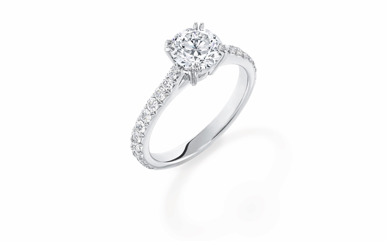 The Brilliant Love In Brilliant Love Diamond Engagement Rings (View 4 of 25)