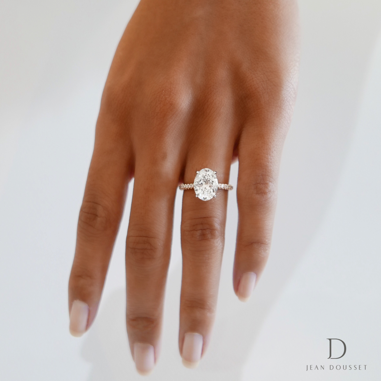 The Luna Engagement Ring With An Oval Cut Diamond Within Oval Shaped Engagement Rings (View 11 of 25)