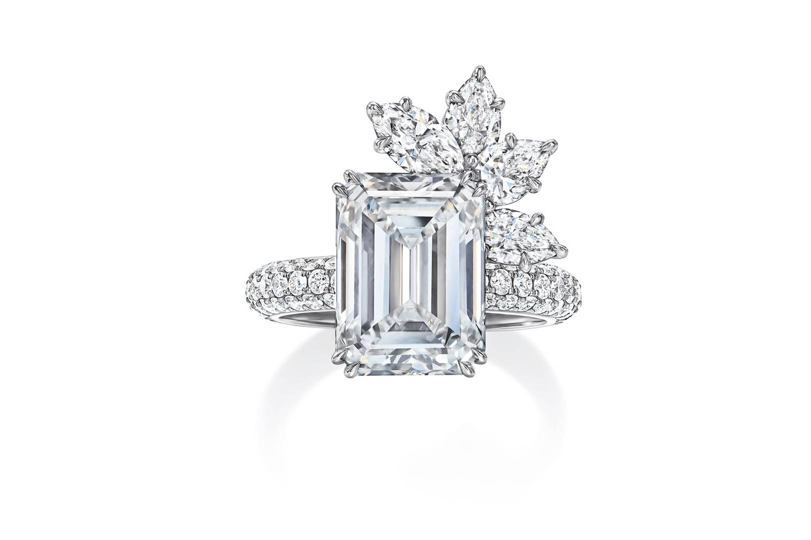 The Newest Engagement Rings From Harry Winston | Tatler Within Winston Blossom Diamond Engagement Rings (View 14 of 25)