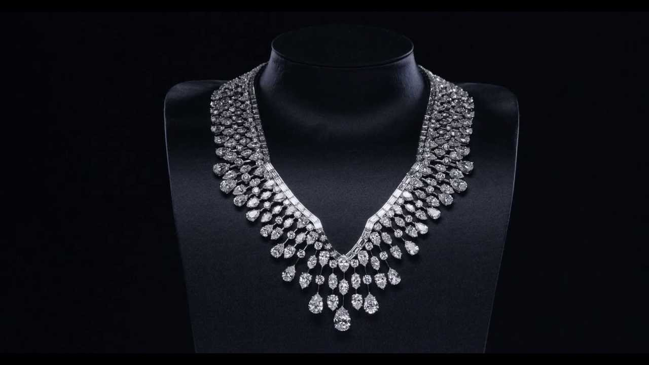 The World's 11 Most Expensive Necklaces: From Marie With Newest Diamond Wreath Necklaces (Gallery 22 of 25)