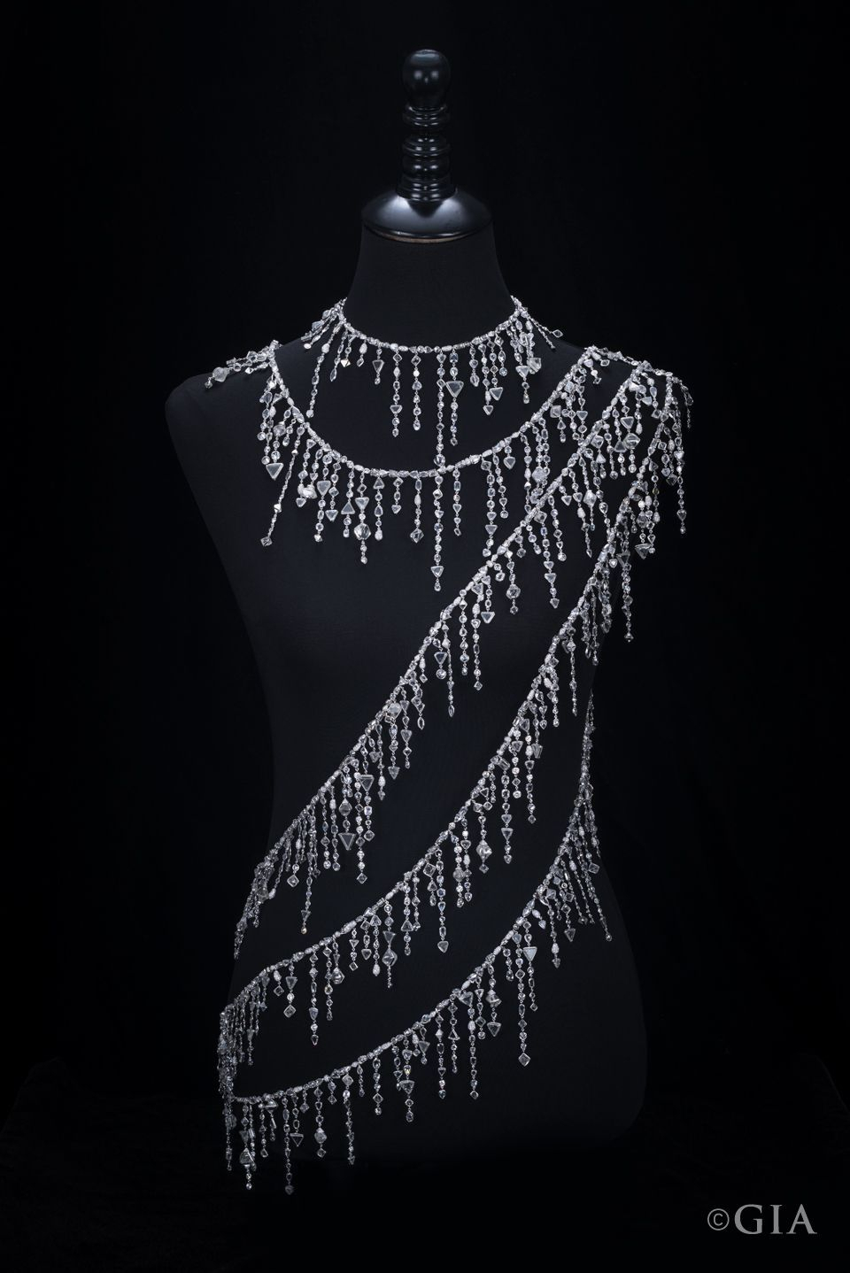 This Stunning 18K White Gold Diamond Sautoir (A Very Long With 2020 White Gold Diamond Sautoir Necklaces (Gallery 16 of 25)