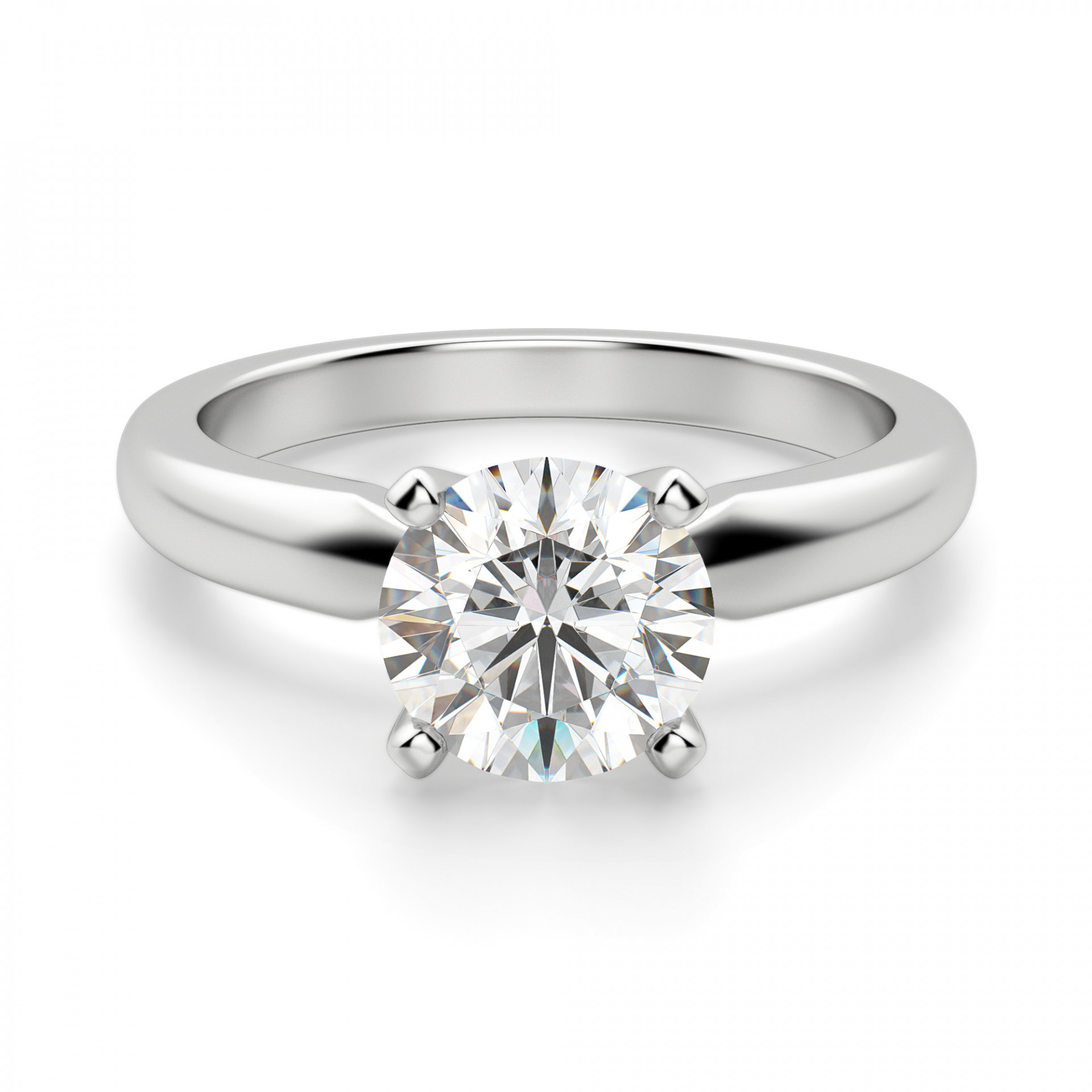 Featured Photo of Solitaire Round Brilliant Engagement Rings