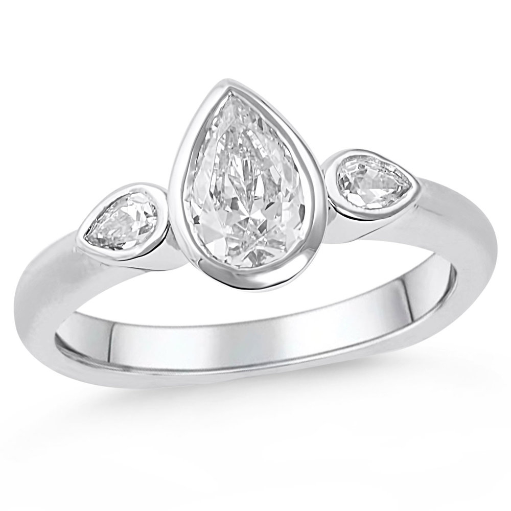 Triumphant — Mark Michael Diamond Designs With Regard To Tryst Pear Shaped Diamond Engagement Rings (Gallery 22 of 25)