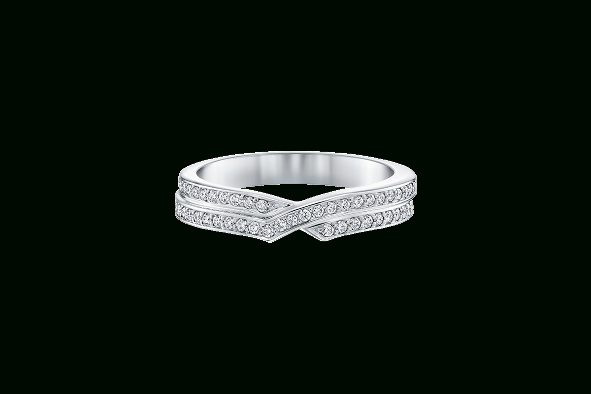 Tryst Full Micropavé Wedding Band | Harry Winston Regarding Best And Newest Full Micropavé Diamond Wedding Bands (View 4 of 25)