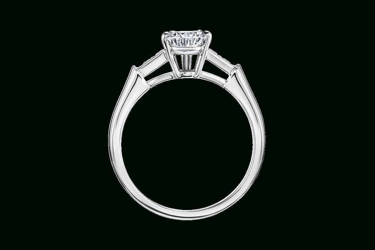 Tryst Pear Shaped Engagement Ring | Harry Winston Intended For Tryst Pear Shaped Diamond Engagement Rings (View 3 of 25)