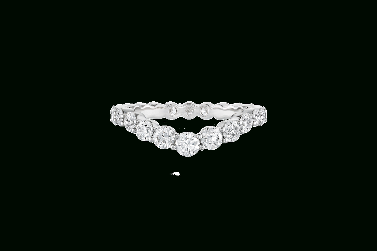 V Shape Fitted Diamond Wedding Band | Harry Winston For Most Current V Shape Diamond Wedding Bands (View 16 of 25)