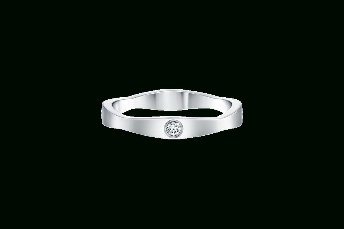 Wave Diamond Wedding Band | Harry Winston Regarding Best And Newest Wave Diamond Wedding Bands (View 6 of 25)