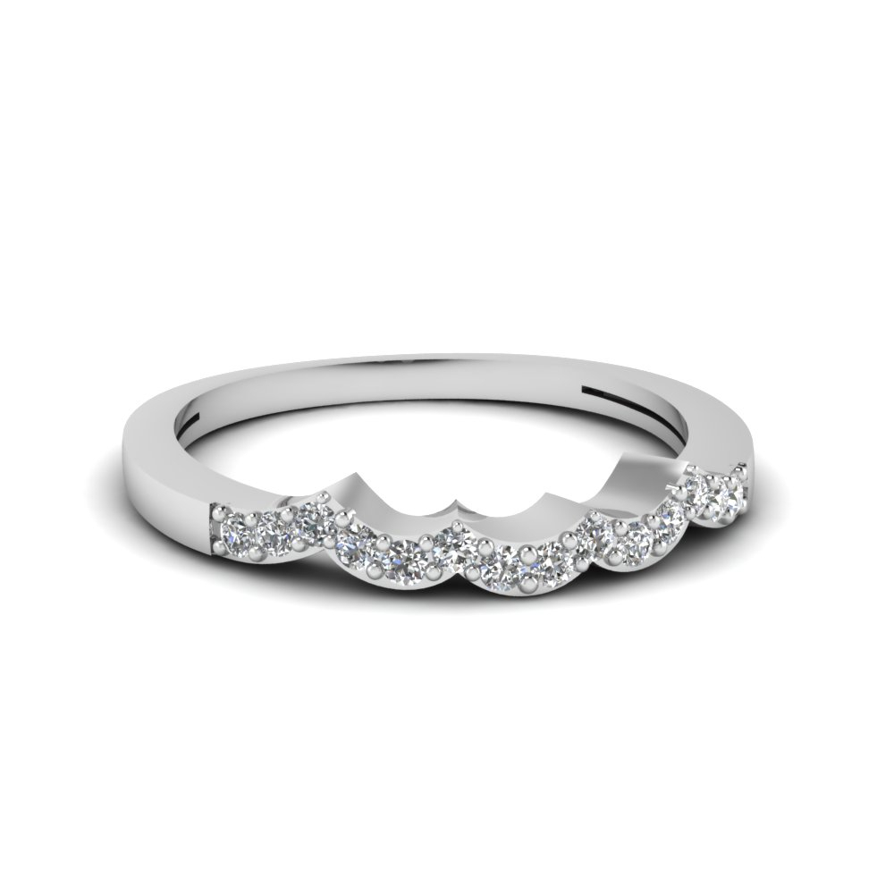 Featured Photo of Wave Diamond Wedding Bands