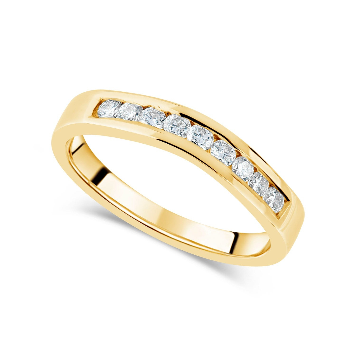 Wedding Rings & Bands Within Most Recently Released Wave Diamond Wedding Bands With Pavé (View 21 of 25)