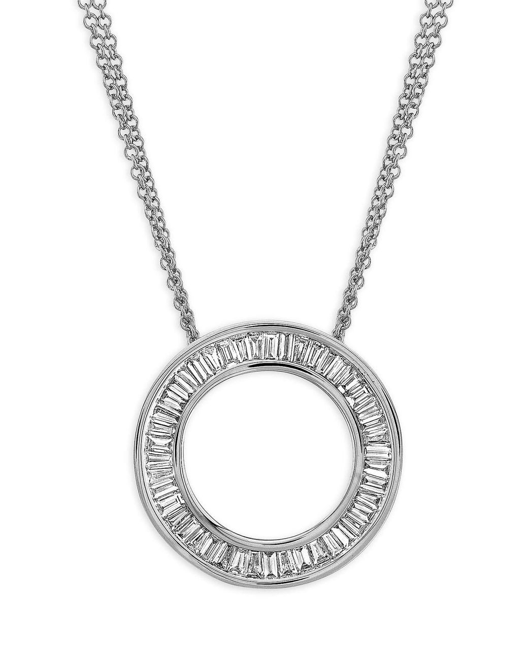 Women's Metallic Circle Of Life Medium Diamond Pendant Necklace (nordstrom Exclusive) Inside Most Current Medium Diamond Necklaces (View 16 of 25)