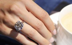 Big Diamond Engagement Rings