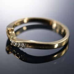 Wrap Around Wedding Bands