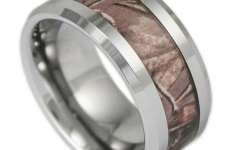 Mens Camo Tungsten Wedding Bands