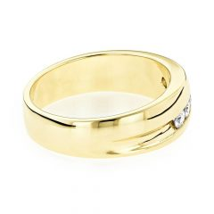 Gold Male Engagement Rings
