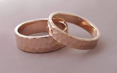Gold Rose Wedding Rings