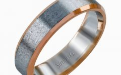 Rose Gold Wedding Bands for Men