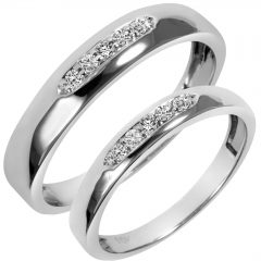 Wedding Bands Sets His And Hers