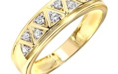 Gold Men Wedding Rings