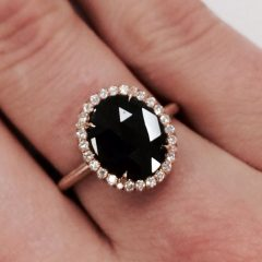 Vintage Style Non Diamond Engagement Rings