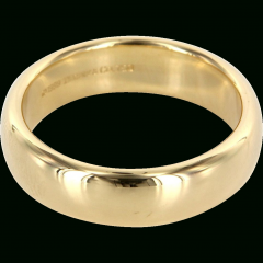 18 Carat Gold Wedding Bands