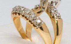 Yellow Gold Wedding Band Sets
