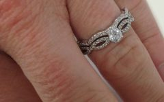 Wedding Band for Infinity Engagement Rings